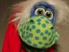 Kleiner Dino wünscht ein großartiges Weihnachtsfest