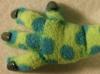 Eine zarte Dino-Hand